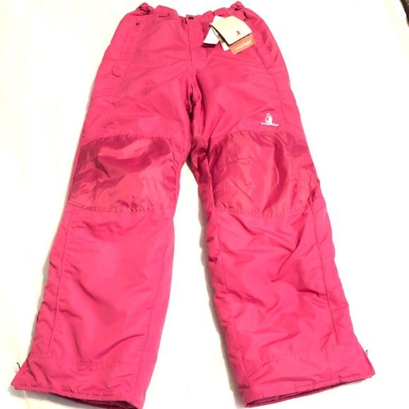 07b79671 Rugged Bear Bottoms   Pink Snow Pants Insulated Girls 1416   Poshmark